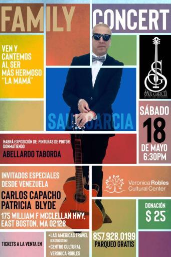 Saul Garcia FLyer